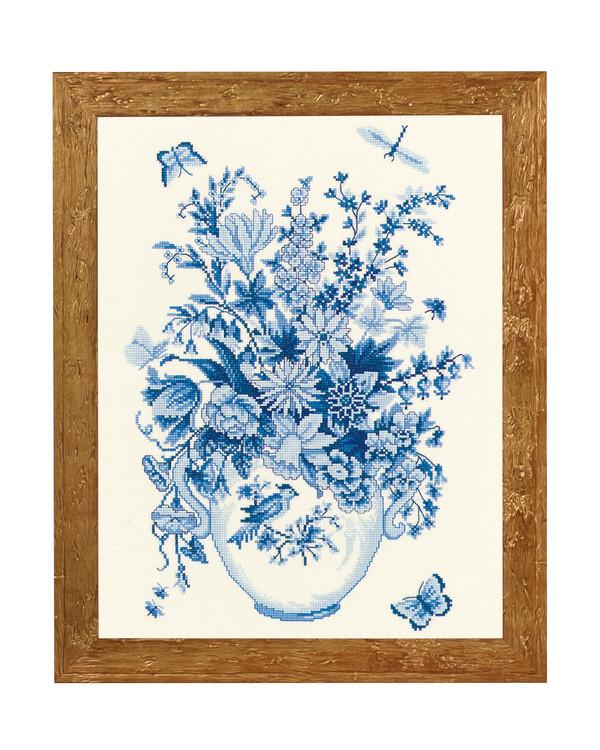 Billede Blå blomster