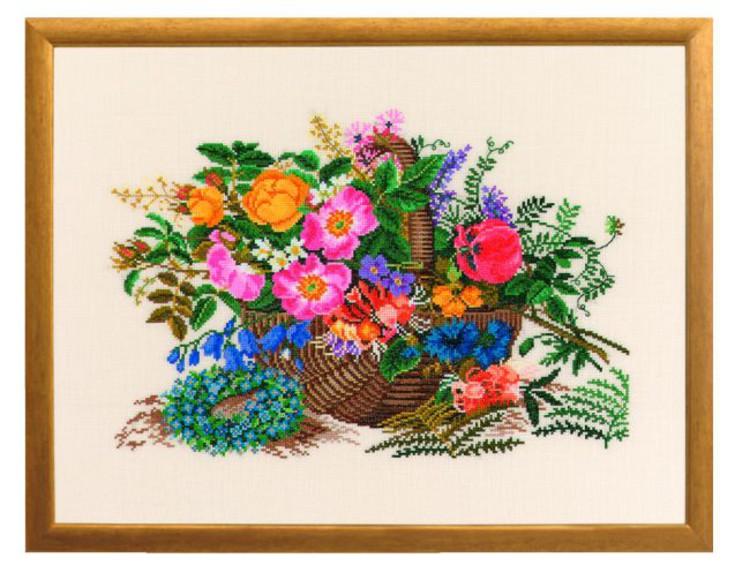 Bild Blumenkorb