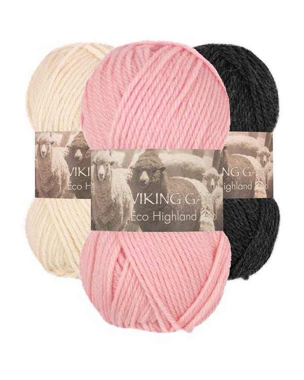 Garn Viking Eco Highland Wool