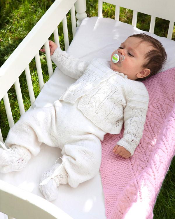 Babyset och filt