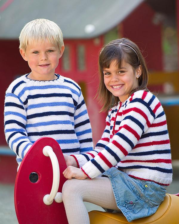 Barntröja och kofta