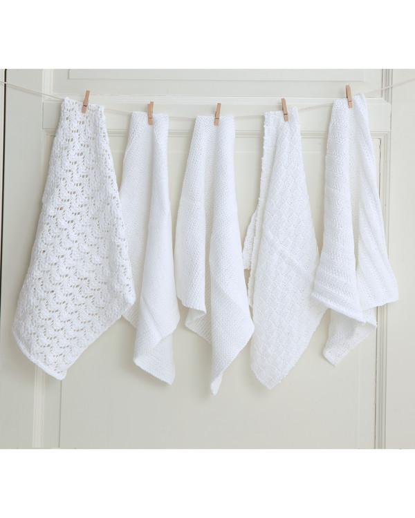 Oppvaskklut og håndkle