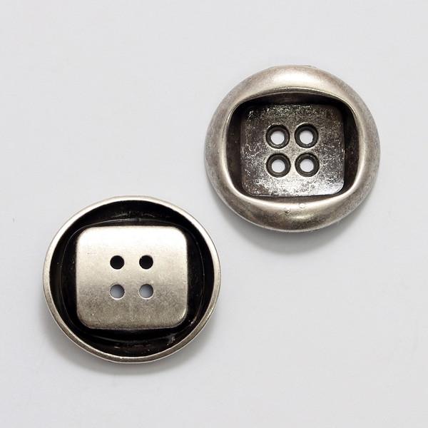 Knapp metall 25 mm