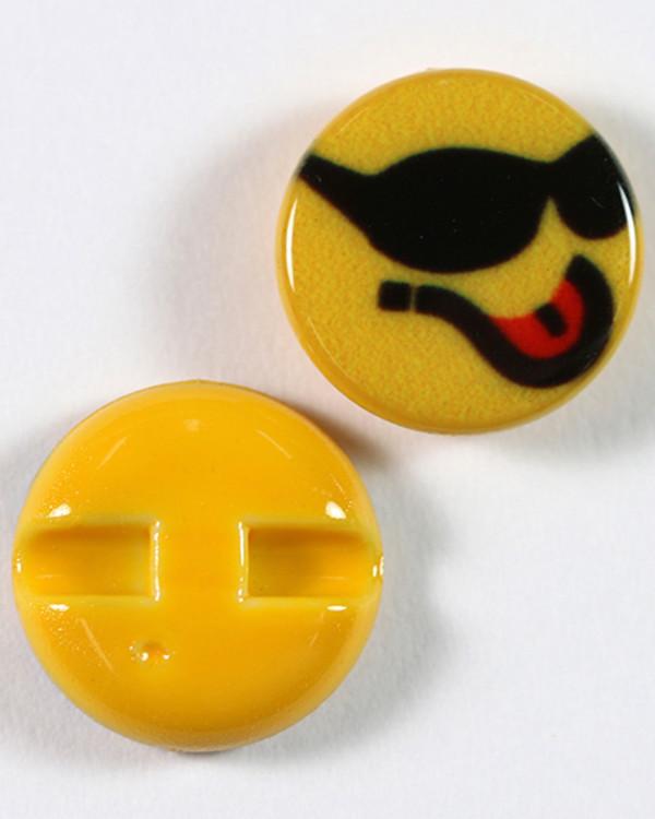Knapp Emoji Kul 15 mm