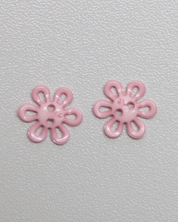 Knap pink 12mm