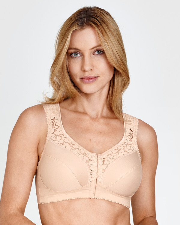 Bh uten bøyle Cotton Lace Miss Mary