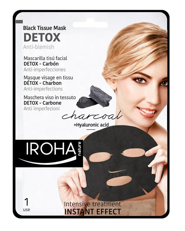 Ansiktsmaske stoff DETOX rensende