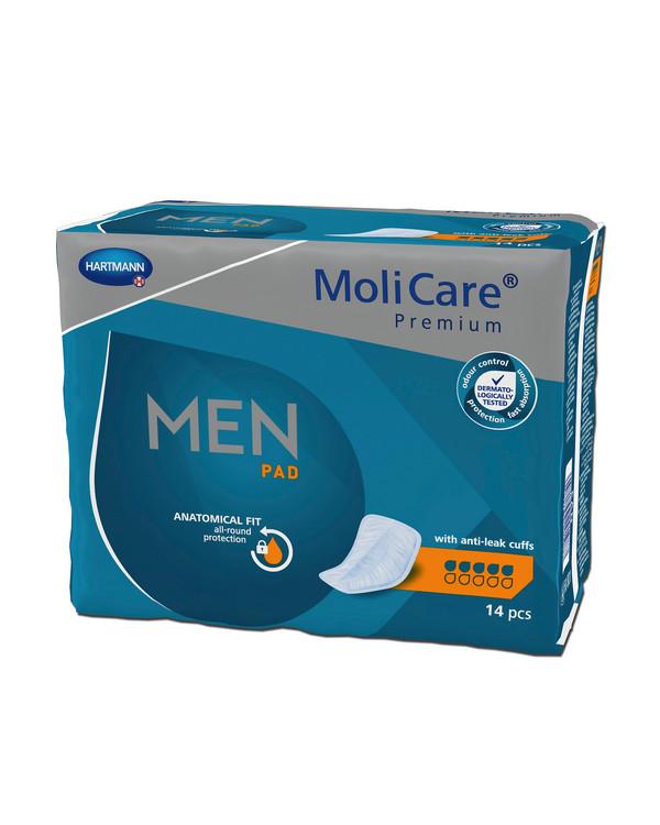 MoliCare Premium Men Pads 5 dropper