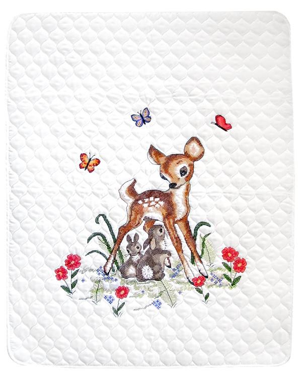 Stickpackung Babydecke Bambi
