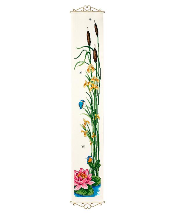 Kapea seinävaate Kukat