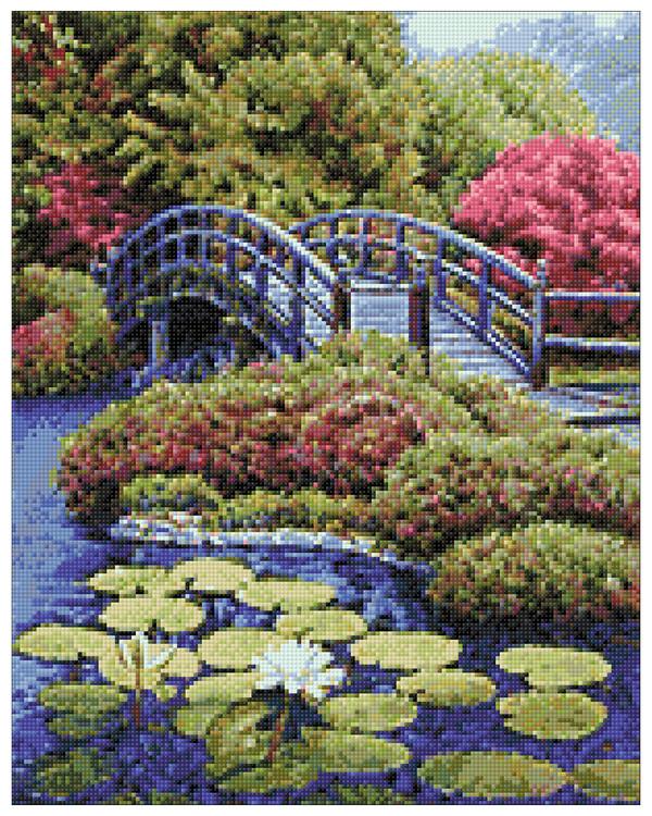 Diamond painting Japansk trädgård