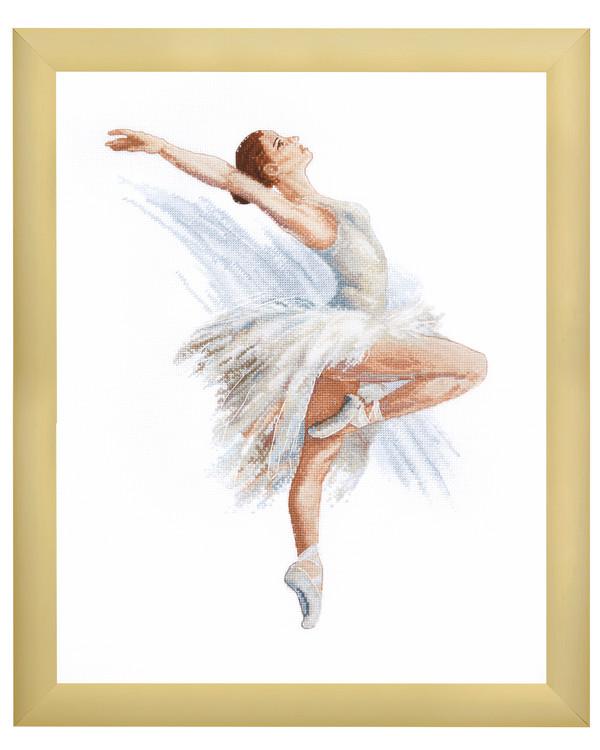 Broderipakke Bilde Ballerina
