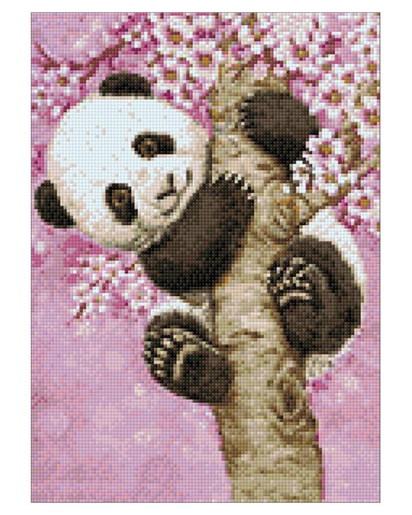 Diamond painting Süßer Panda