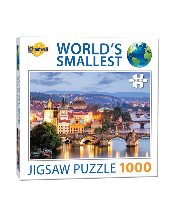 Puslespil Prag 1000 brikker