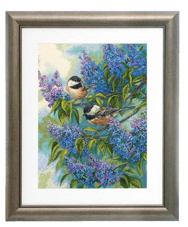 Bilde Fugler i syrinbusken