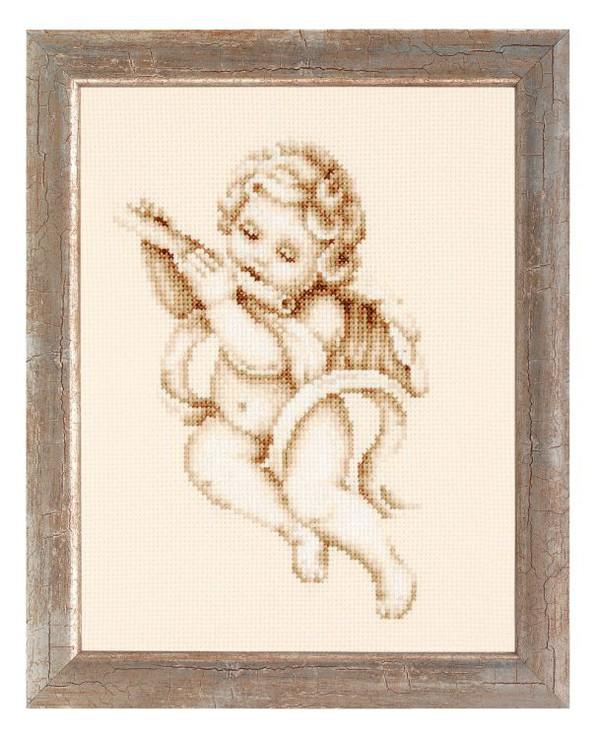 Bild Engel mit Flöte