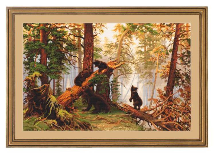 Bild Bärenspiel im Wald