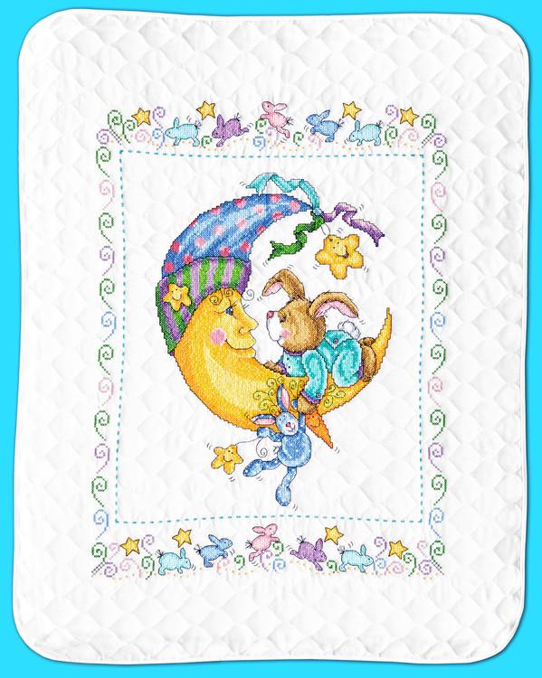 Babydecke Freunde wünschen Gute Nacht