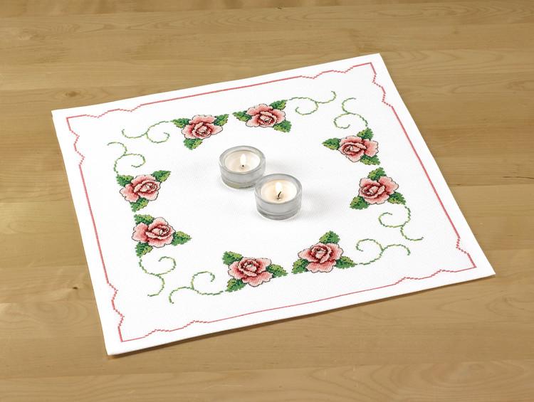 Deckchen Herrliche Rosen