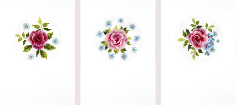 Kortit Roosat Ruusut 3/pak