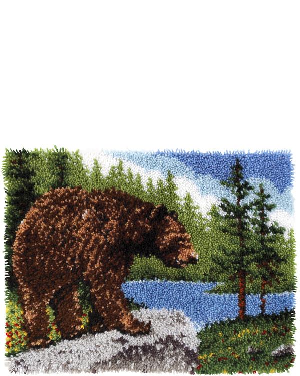 Ryamatta Grizzlybjörn