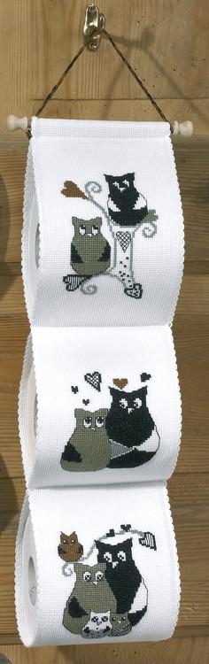 Toilettenpapierhalter Liebesgeschichte