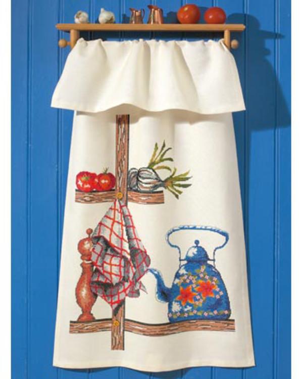 Stickpackung Überhandtuch Küche
