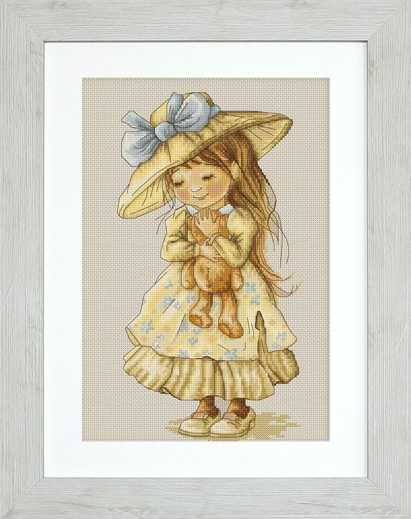 Bilde Jente med bamse