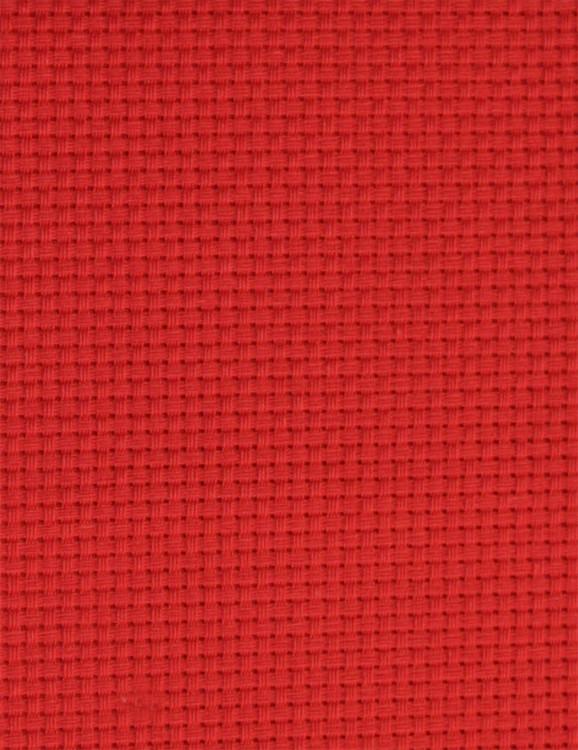 Vev Aida rød 3,2 ruter/cm