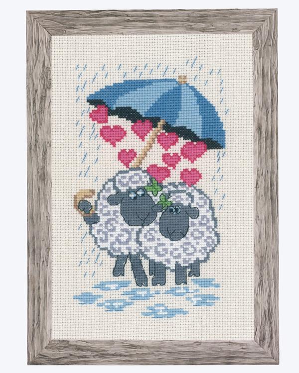 Taulu Rakkautta sateessa