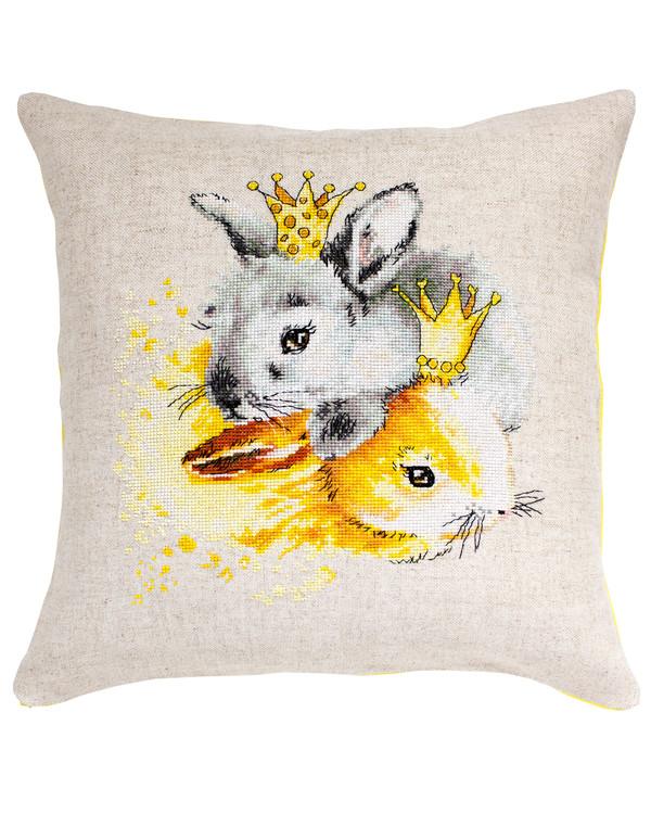 Tyynynpäällinen Kuninkaalliset kanit