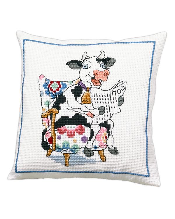 Tyynynpäällinen Lehmä