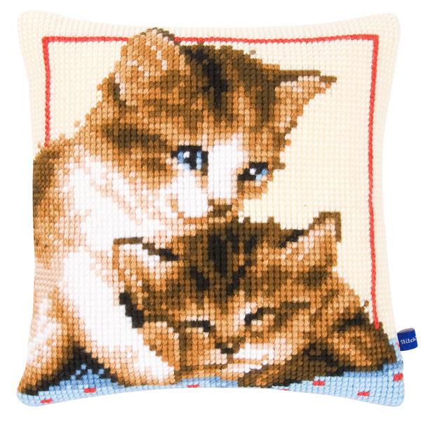 Kissen Verspielte Katzen
