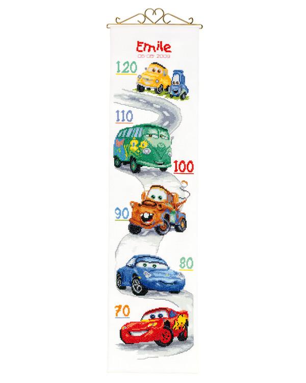Måleveggteppe Biler