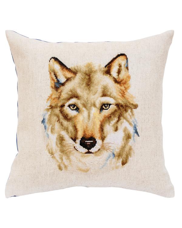 Kissen Wolf
