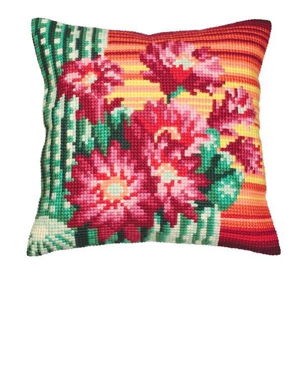 Tyynynpäällinen Kaktuskukat