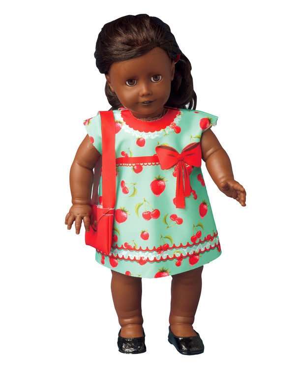 Dress your doll Outfit Cecily strawberry