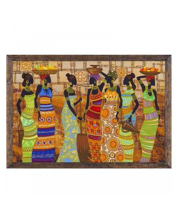 Perlebroderi Afrikanske skjønnheter