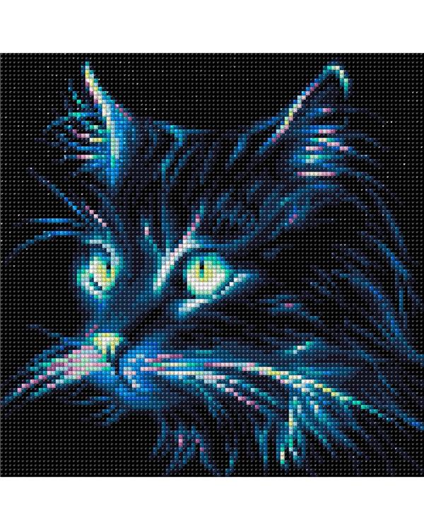 Diamond painting Kat