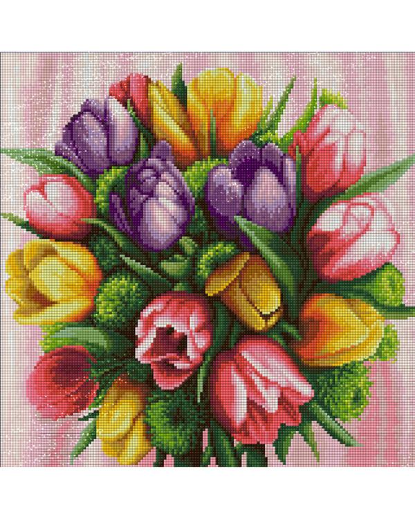 Diamond painting Tulpen