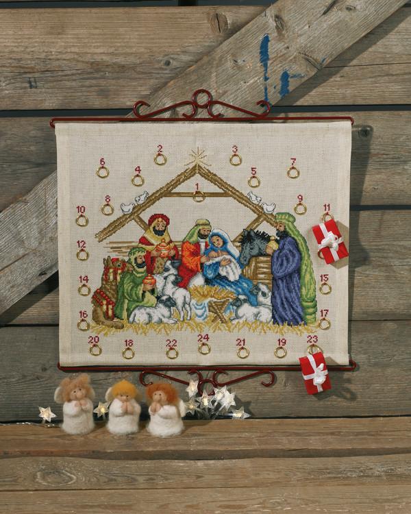 Broderipakke Kalender Jesusbarnet