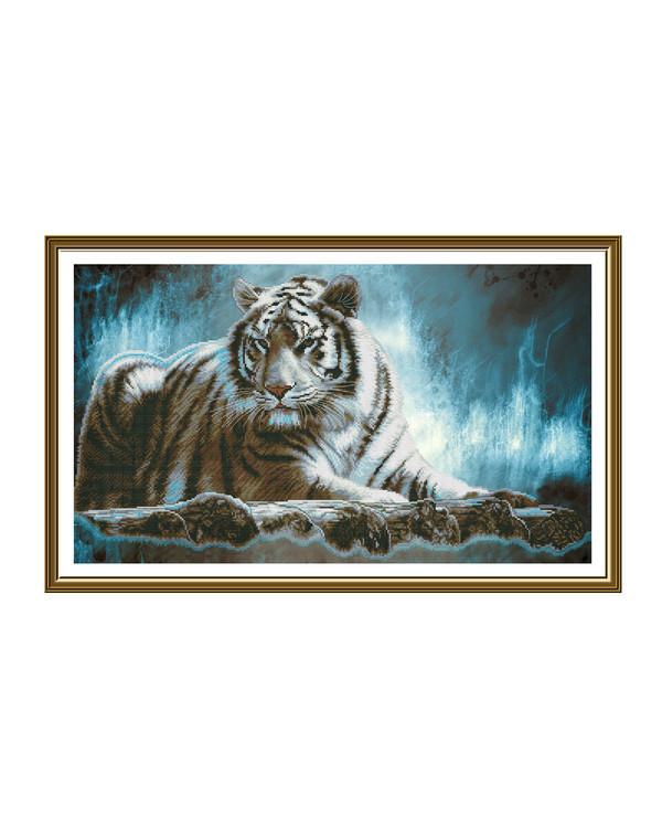 Broderikit Tavla Tiger