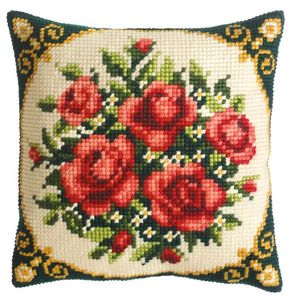 Kissen Rote Rosen