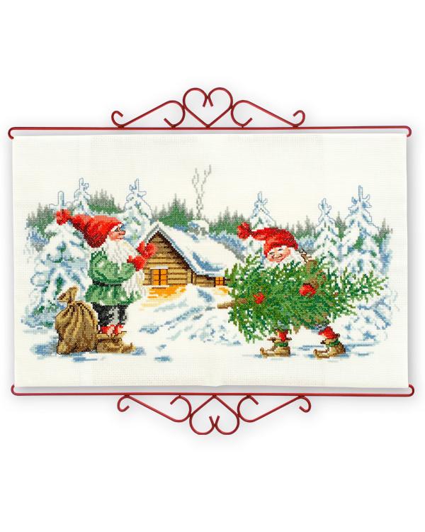 Seinävaate Joulukuusen aika