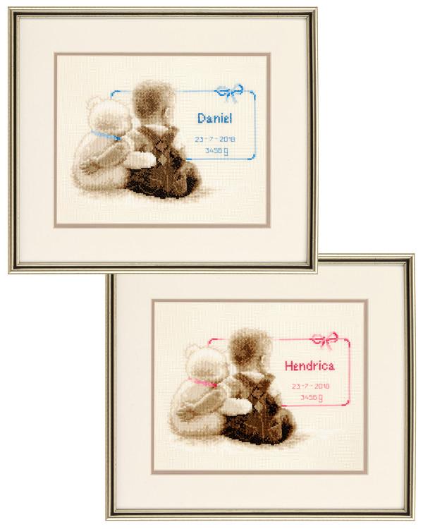Fødselsbilde Kjære bamsen