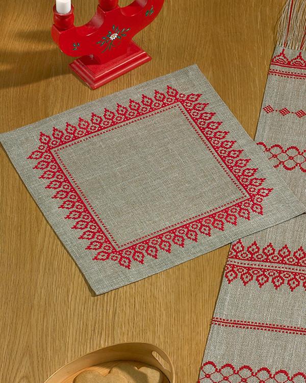 Duk Rød bord