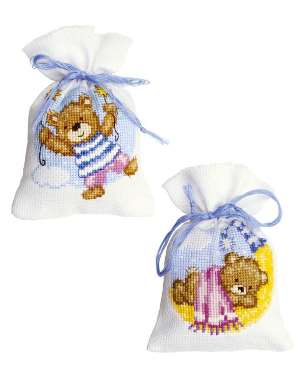 Dufttütchen Teddys 2-er Pack