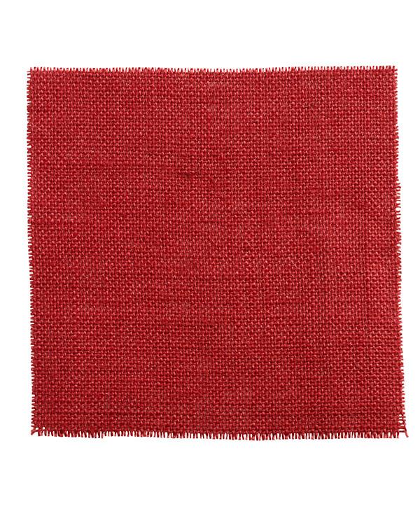 Jutevev rød