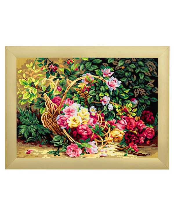 Stramei Kurv full av blomster