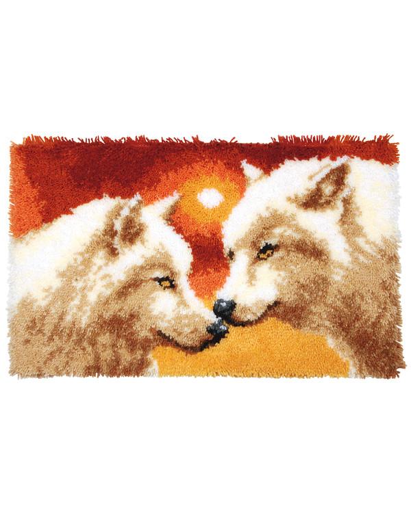 Ryematte Hvite ulver